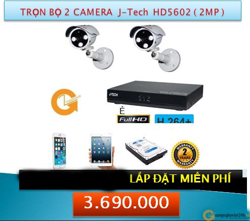 2 CAMERA JTECH HD5602 2MP