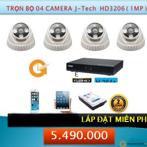 4 CAMERA HD3206 1MP 5490