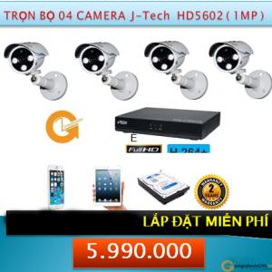 4 CAMERA HD5602 1MP 5990