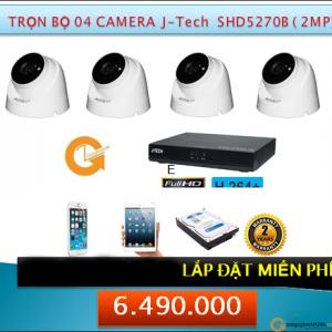 4 camera shd5270B 2mp 6490