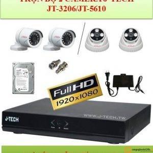 Combo 2 camera jtech 1000tvl